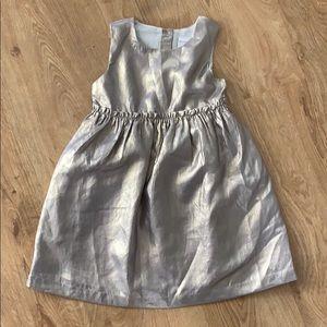 Gymboree Gold Formal Dress NWOT